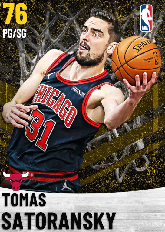76 Tomas Satoransky   Chicago Bulls