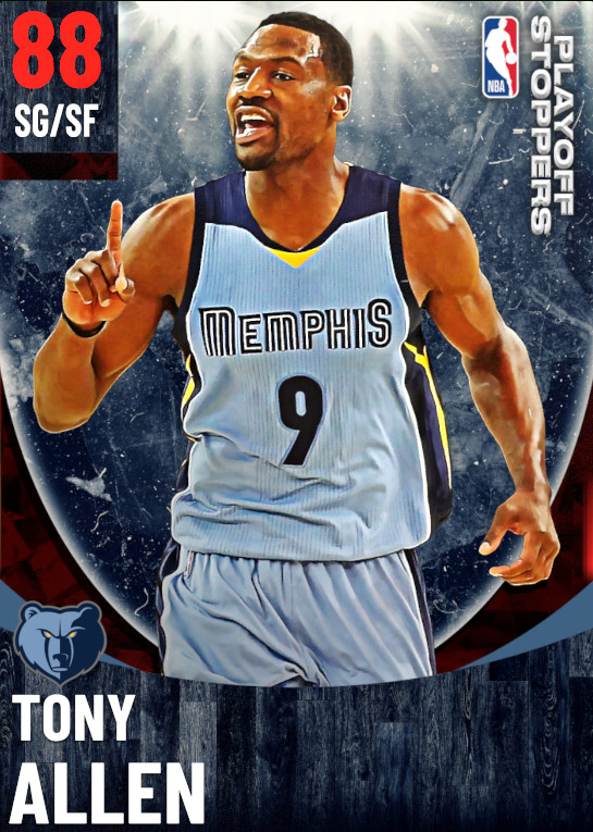 88 Tony Allen   One Will Rise Playoff Stoppers