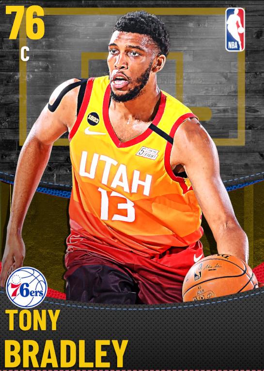 76 Tony Bradley | Philadelphia 76ers