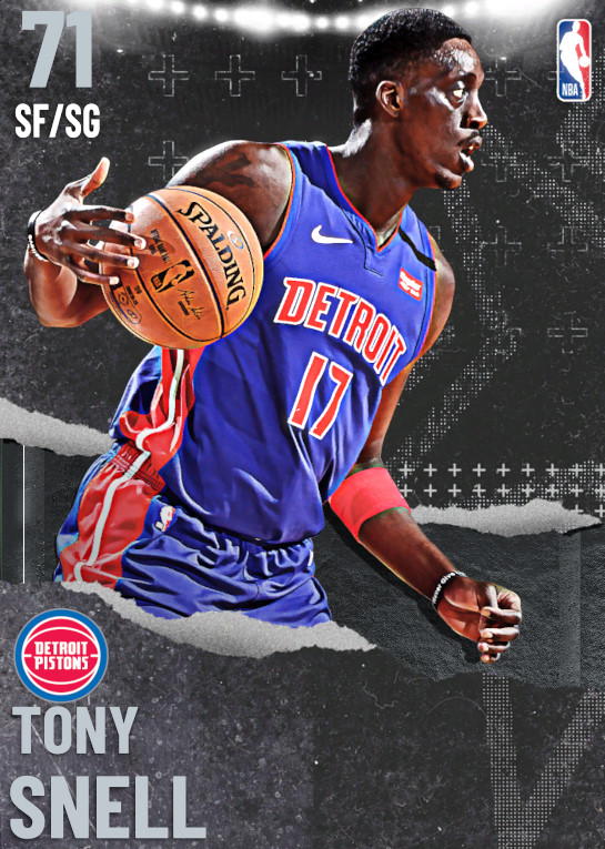 71 Tony Snell | undefined