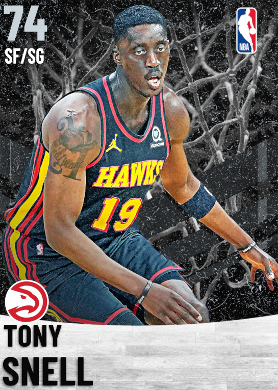 74 Tony Snell   Atlanta Hawks