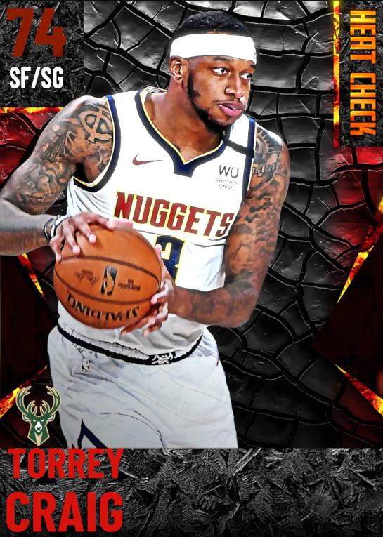 74 Torrey Craig | Milwaukee Bucks