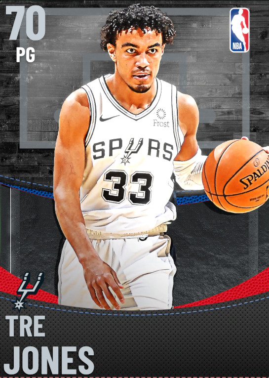 70 Tre Jones | San Antonio Spurs