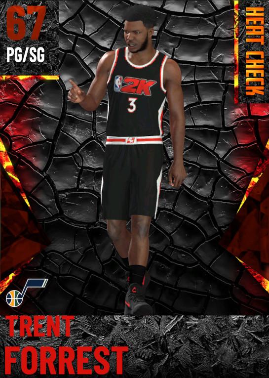 67 Trent Forrest | Utah Jazz