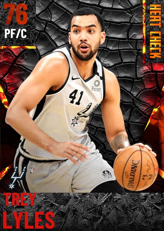 76 Trey Lyles | San Antonio Spurs