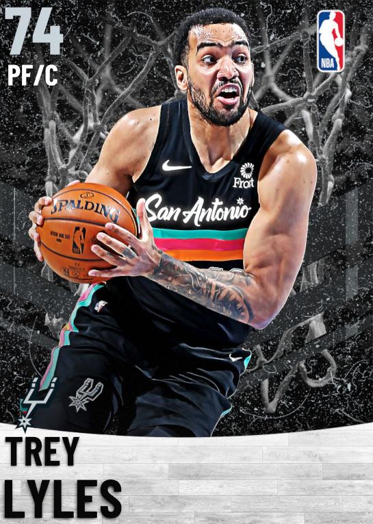 74 Trey Lyles   San Antonio Spurs