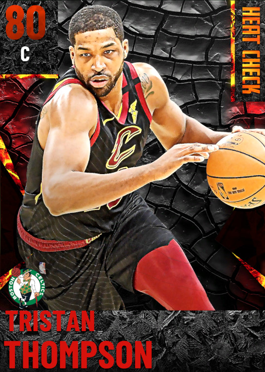 80 Tristan Thompson | Boston Celtics