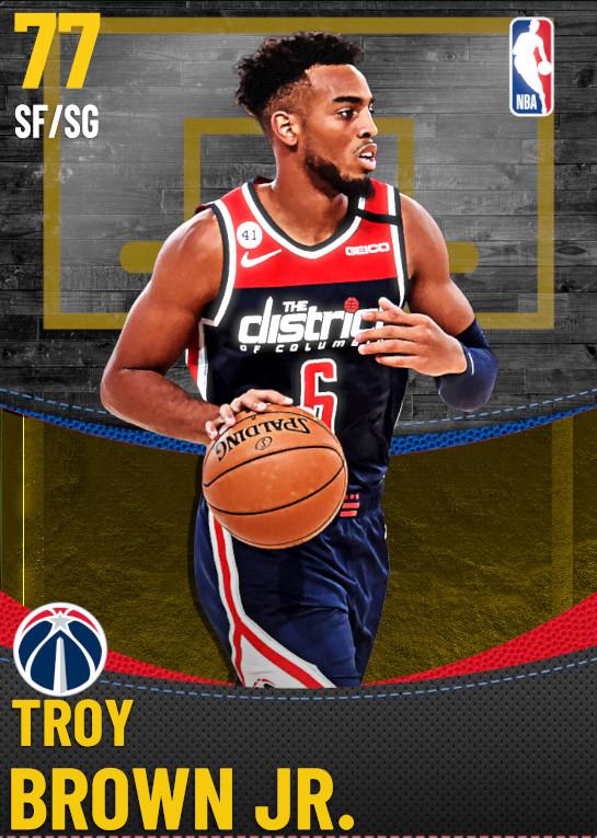 77 Troy Brown Jr. | Washington Wizards
