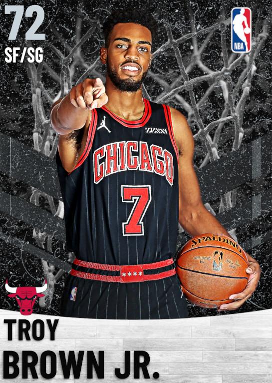 72 Troy Brown Jr.   Chicago Bulls
