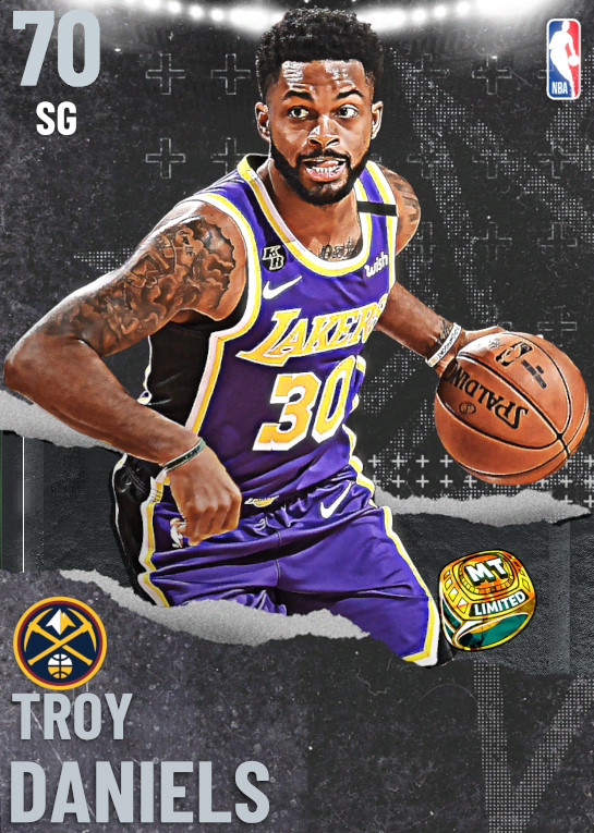 70 Troy Daniels | undefined