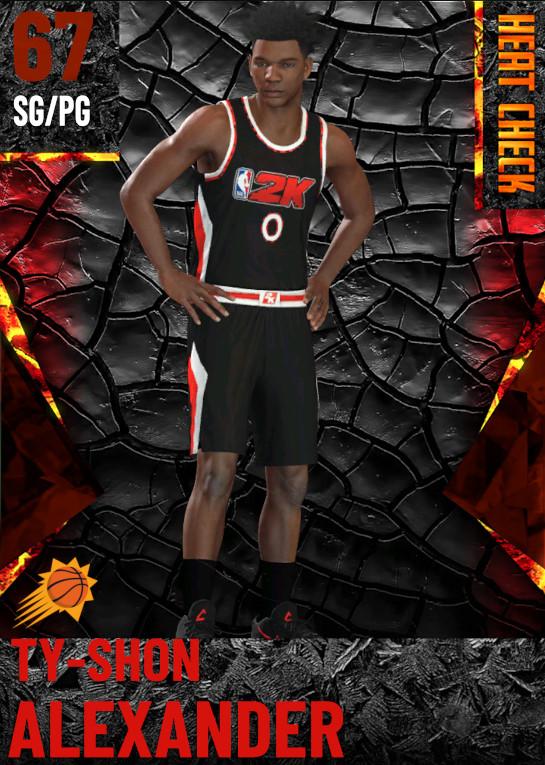 67 Ty-Shon Alexander | Phoenix Suns