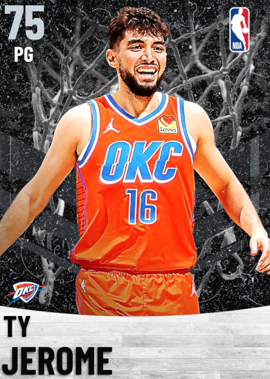 75 Ty Jerome   Oklahoma City Thunder