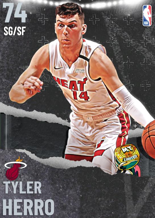 74 Tyler Herro   Miami Heat