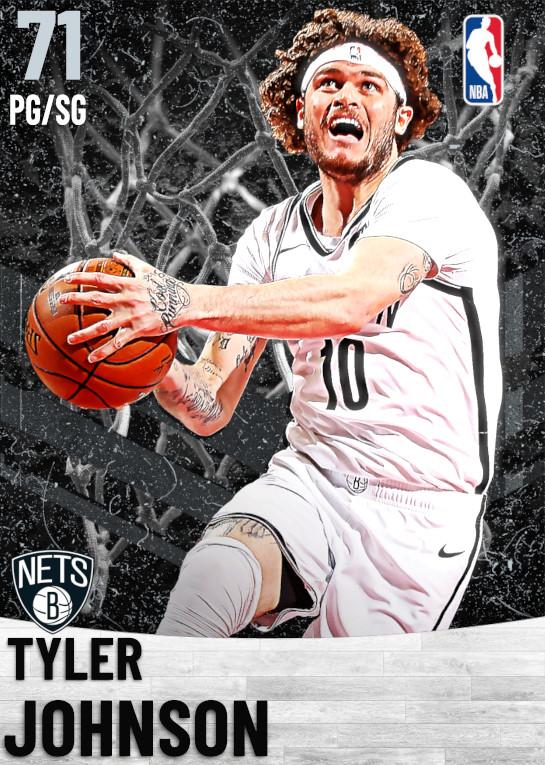 71 Tyler Johnson   Brooklyn Nets