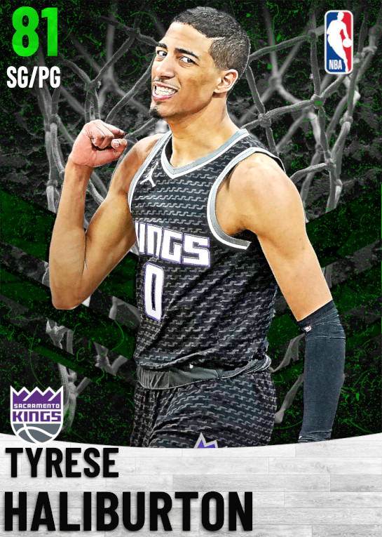 81 Tyrese Haliburton   Sacramento Kings