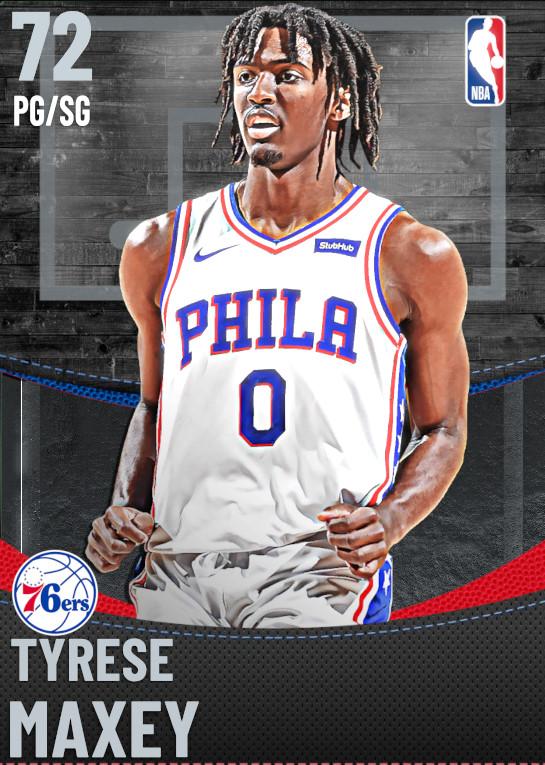 72 Tyrese Maxey | Philadelphia 76ers