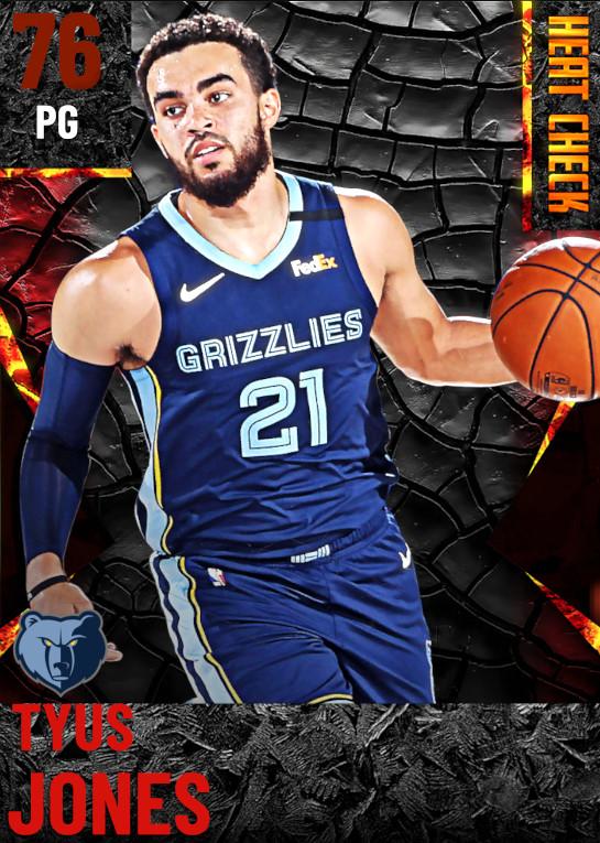 76 Tyus Jones | Memphis Grizzlies