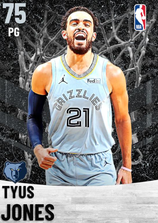 75 Tyus Jones   Memphis Grizzlies