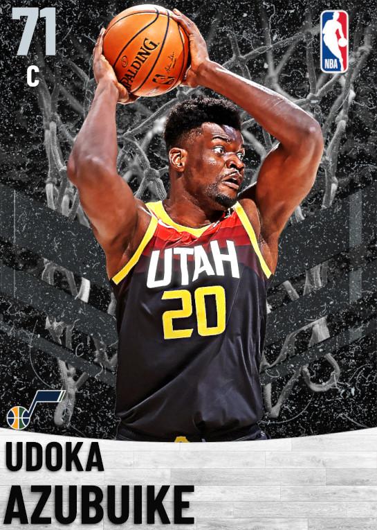 71 Udoka Azubuike   Utah Jazz