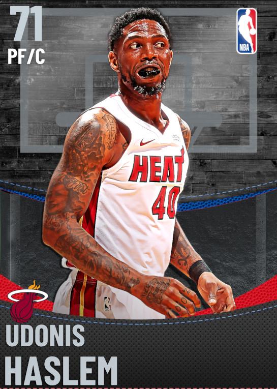71 Udonis Haslem | Miami Heat