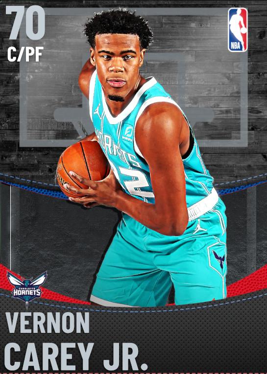 70 Vernon Carey Jr. | Charlotte Hornets