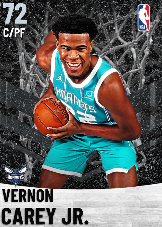 72 Vernon Carey Jr.   Charlotte Hornets