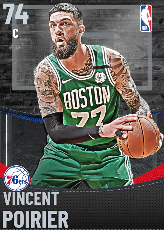 74 Vincent Poirier | Philadelphia 76ers