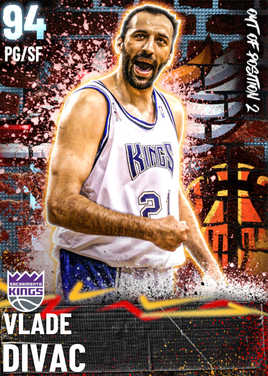 94 Vlade Divac   Out of Position 2