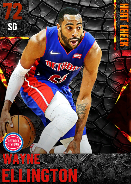 72 Wayne Ellington | Detroit Pistons