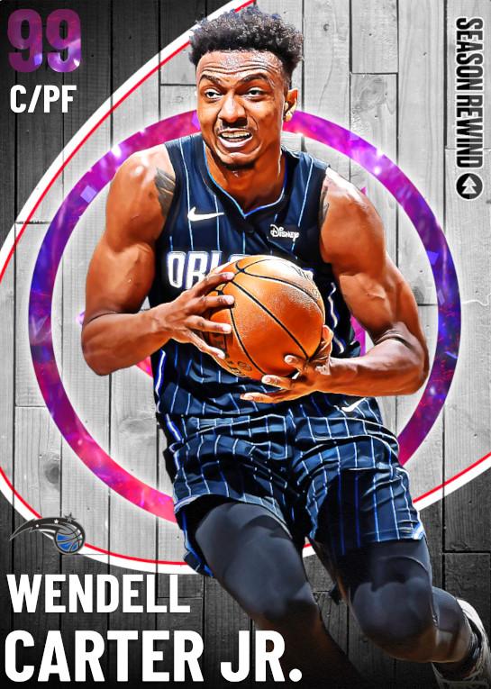 99 Wendell Carter Jr.   undefined