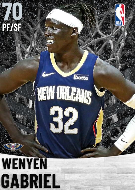 70 Wenyen Gabriel   New Orleans Pelicans