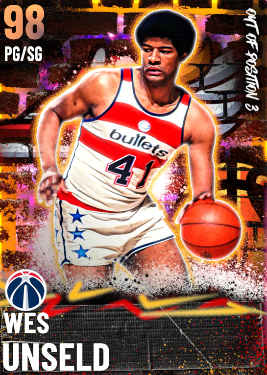 98 Wes Unseld | Out of Position 3