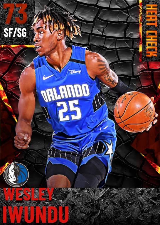 73 Wesley Iwundu | Dallas Mavericks