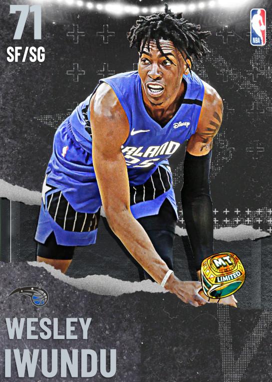 71 Wesley Iwundu | undefined