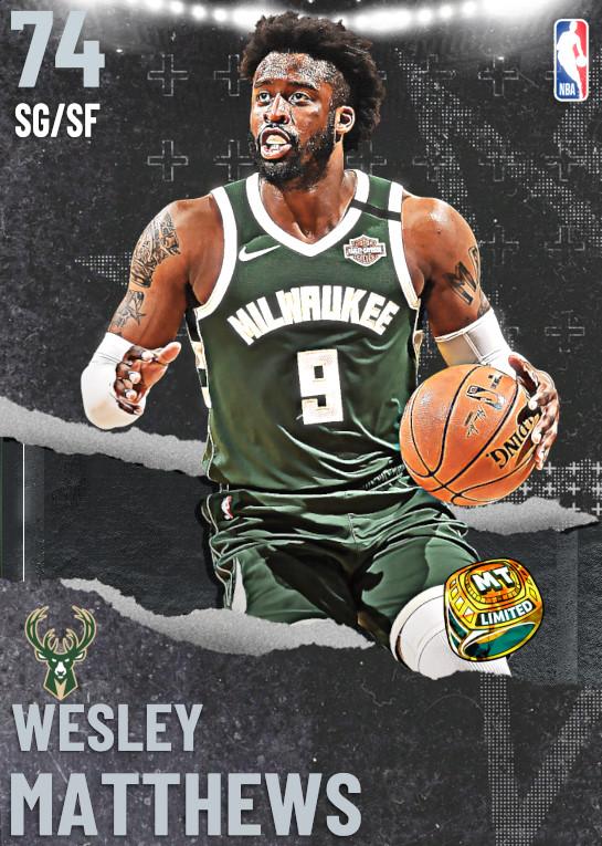 74 Wesley Matthews | undefined
