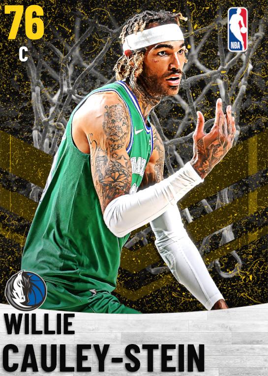 76 Willie Cauley-Stein   Dallas Mavericks