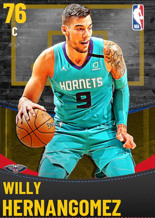 76 Willy Hernangomez | New Orleans Pelicans