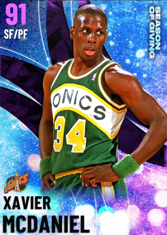 91 Xavier McDaniel | undefined