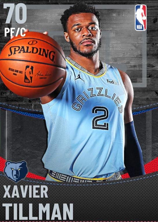 70 Xavier Tillman | Memphis Grizzlies