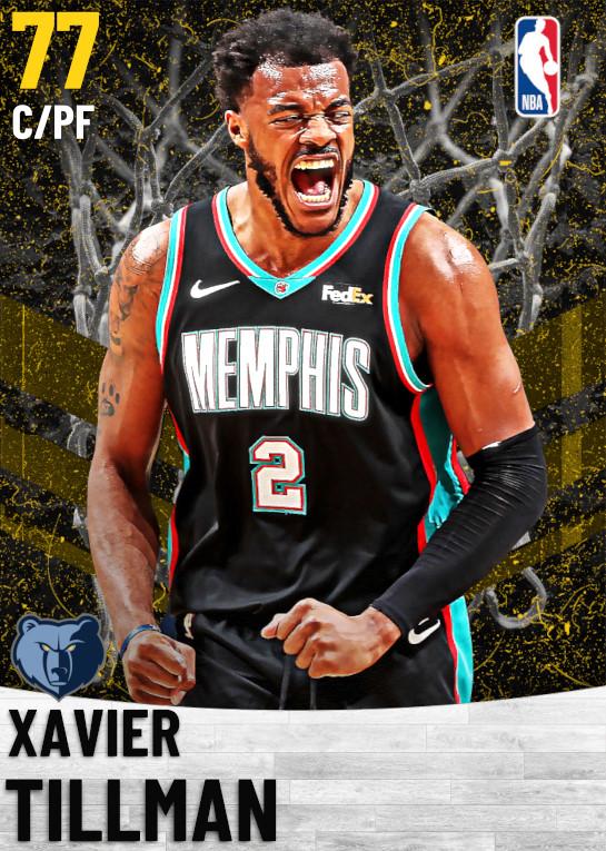 77 Xavier Tillman   Memphis Grizzlies