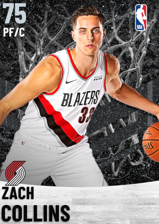 75 Zach Collins   Portland Trail Blazers