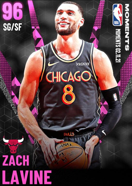 96 Zach LaVine | Chicago Bulls
