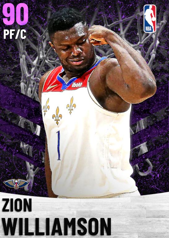 90 Zion Williamson   New Orleans Pelicans