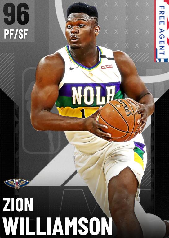 96 Zion Williamson   undefined