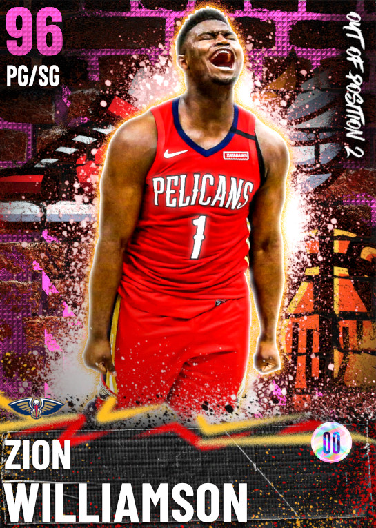 96 Zion Williamson   Out of Position 2 Reward