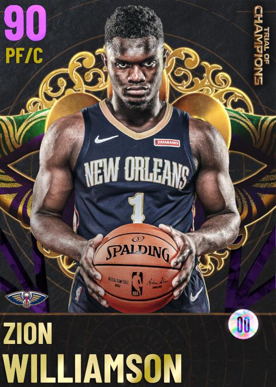 90 Zion Williamson | undefined