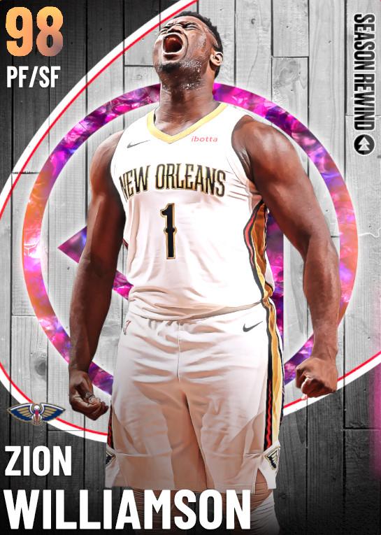 98 Zion Williamson   undefined